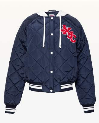 Juicy Couture JXJC Quilted Nylon Bomber Jacket