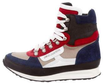 DSQUARED2 Suede High-top Sneakers