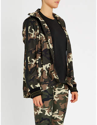 The Upside Ash Camouflage shell jacket