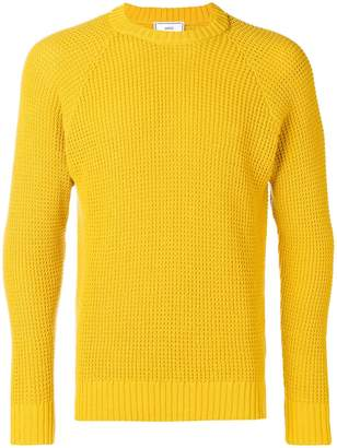 Ami Alexandre Mattiussi textured crewneck sweater