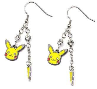 Pokemon Pikachu Lightning Bolt Dangle Earrings