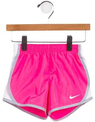Nike Girls' Mesh-Paneled Athletic Bottoms w/ Tags