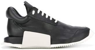 Rick Owens Adidas By concealed platform sneakers