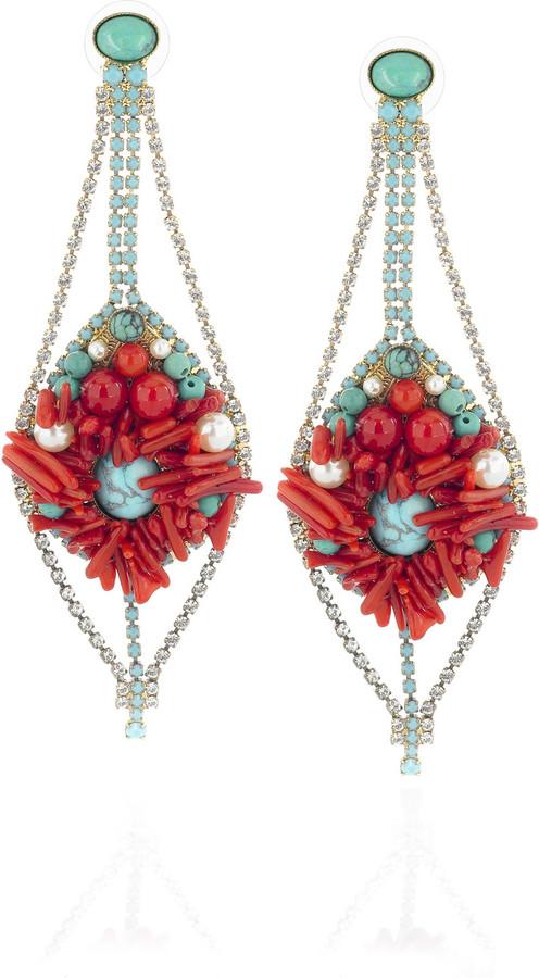 Erickson Beamon Gypsy Sun earrings