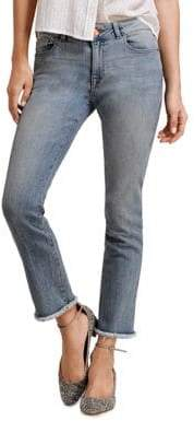 Mara Ankle Instasculpt Straight Jeans