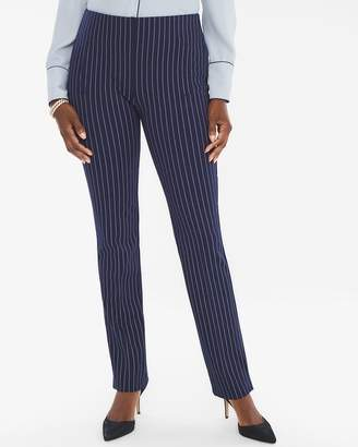 New So Slimming So Slimming Juliet Pinstriped Straight-Leg Pants