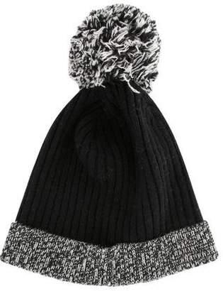 Autumn Cashmere Wool Pom Pom Hat