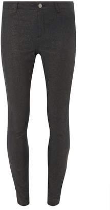 75ac7c2aea90bf Dorothy Perkins Womens Indigo 'Frankie' Super Skinny Glitter Dark Wash Jeans