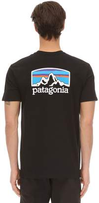 Patagonia Fitz Roy Horizons Printed Cotton T-shirt