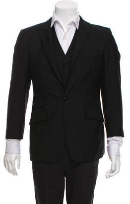 Versace Peak-Lapel Vest Set