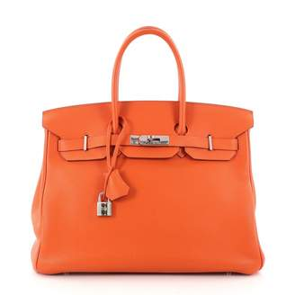 Hermes Birkin 35 leather handbag