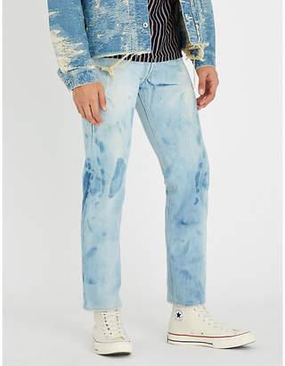 Redline VINTAGE LEVI'S 1970 501 faded regular-fit straight jeans