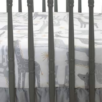 Lambs & Ivy Moonbeams Giraffe & Star Fitted Crib Sheet
