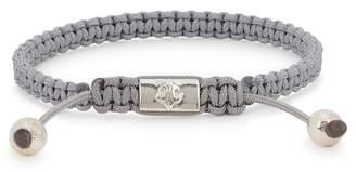 Nialaya Grey Woven Cord Bracelet