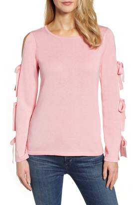 CeCe Bow Sleeve Sweater