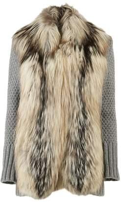 Carolina Herrera Grey Fox Knitwear