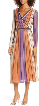 Foxiedox Jayden Long Sleeve Knit A-Line Dress