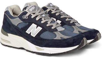 489f9a7069003 New Balance Blue Leather Shoes For Men - ShopStyle UK
