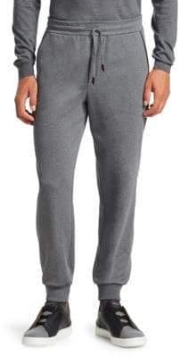 Ermenegildo Zegna Men's Wool-Blend Joggers - Grey - Size 56 (40)