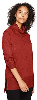 Tribal Women's Cowl Nk Tunic Sweater