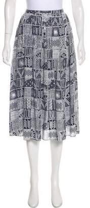 Mara Hoffman Printed Knee-Length Skirt
