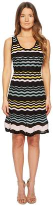 M Missoni Color Block Ripple Dress Women's Dress