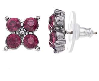 Vera Wang Simply Vera Red Stone Stud Earrings