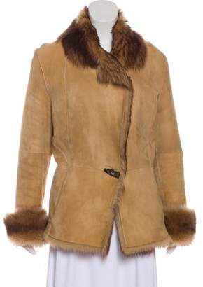 Andrew Marc Shearling Collar Jacket