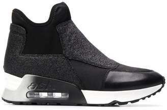 Ash high top fabric sneakers