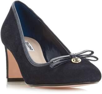 Dune Aucklande Bow Detail Court Shoes