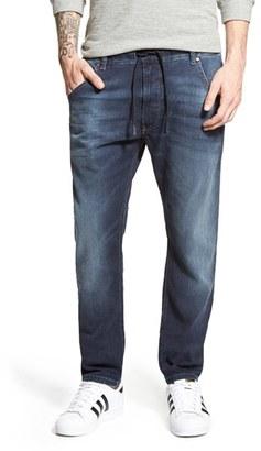 Men's Diesel Krooley Jogg Slouchy Slim Jogger Jeans $198 thestylecure.com