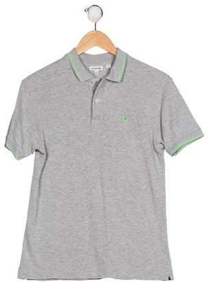 Lacoste Boys' Short Sleeve Shirt