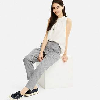 Uniqlo Women's Cotton Linen Relaxed Pants