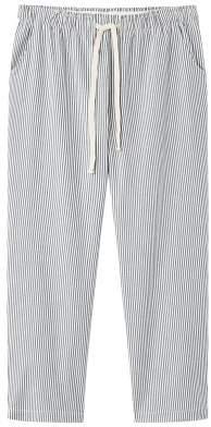 Violeta BY MANGO Striped baggy trousers