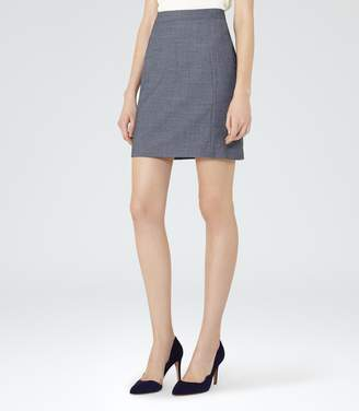 Reiss Russell Skirt Textured Pencil Skirt