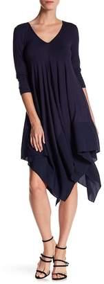 Gracia Handkerchief Hem Dress