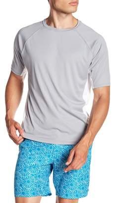 BEACH BROS Side Panel Short Sleeve Swim Tee