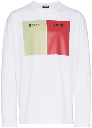 Raf Simons 2CB GHB print cotton t shirt