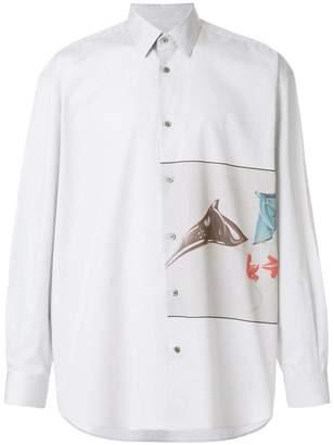 Stella McCartney printed loose-fit shirt