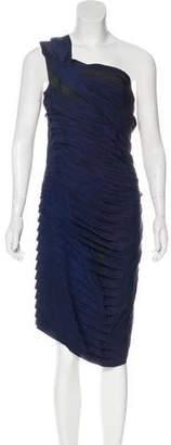 Lanvin Asymmetrical Tiered Dress
