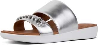 FitFlop Delta Leather Slides