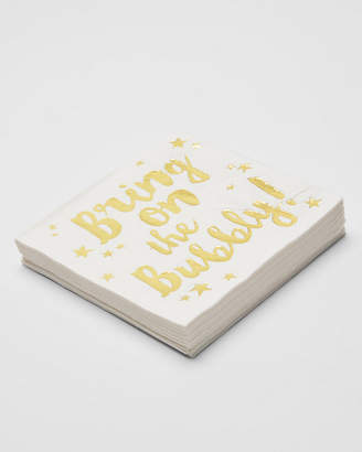 Express Slant Collections Bring On The Bubbly Napkins
