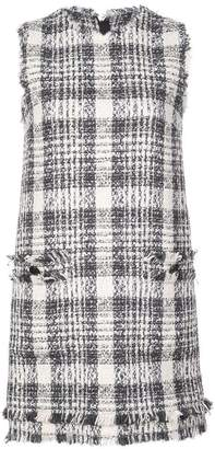 MSGM tartan mini dress