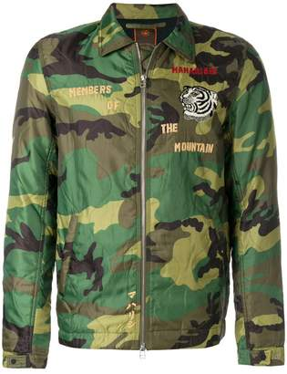 MHI world tour camouflage jacket