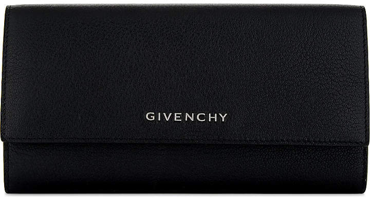 Givenchy Grained leather long wallet