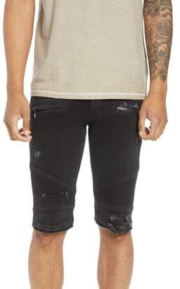 Hudson Blinder Biker Cutoff Shorts