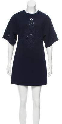 Cynthia Steffe Short Sleeve Mini Dress