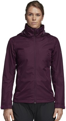 adidas Women's Wandertag Hooded Climaproof Rain Jacket