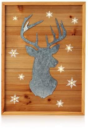 Bloomingdale's Wood & Metal Reindeer Wall Art - 100% Exclusive