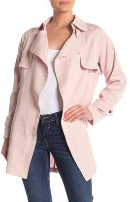 Vigoss Open Front Trench Jacket